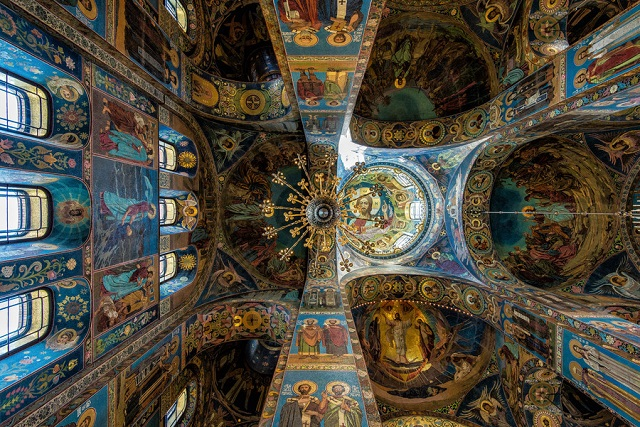 Church of the Saviour of Spilled Blood, Saint Petersburg, Russia