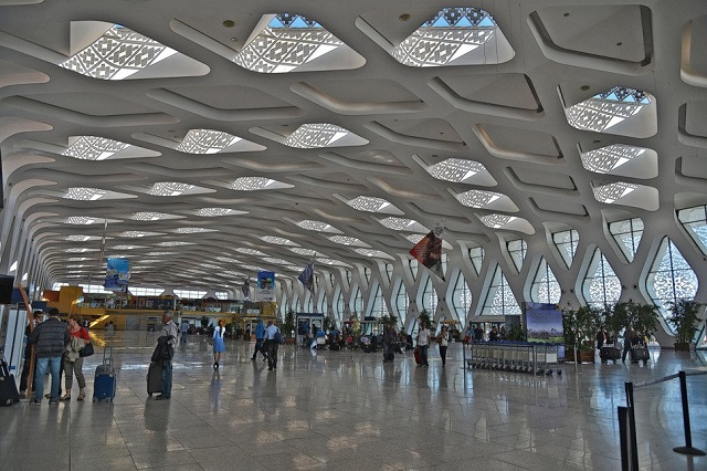 Marrakech Menara Airport in Morocco