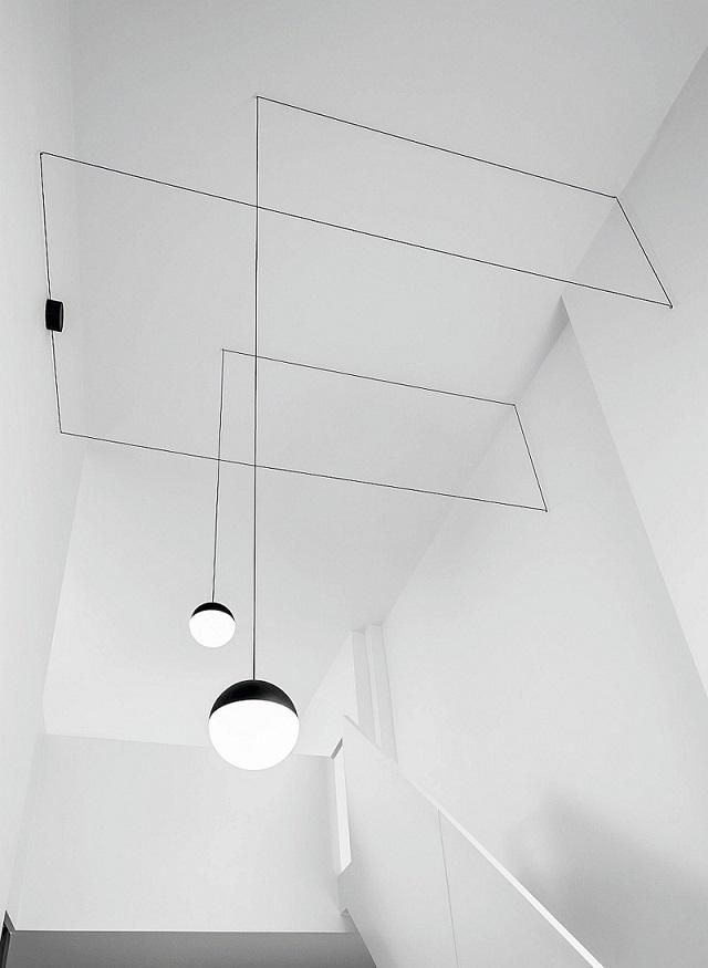 minimalistic ceiling