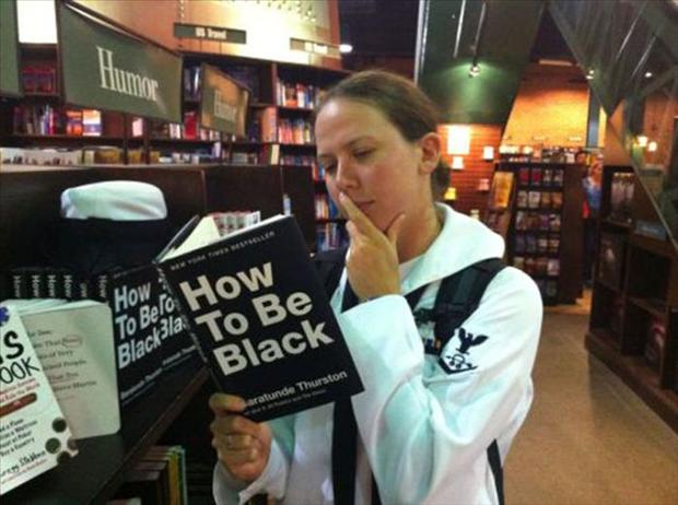 wrong book in public