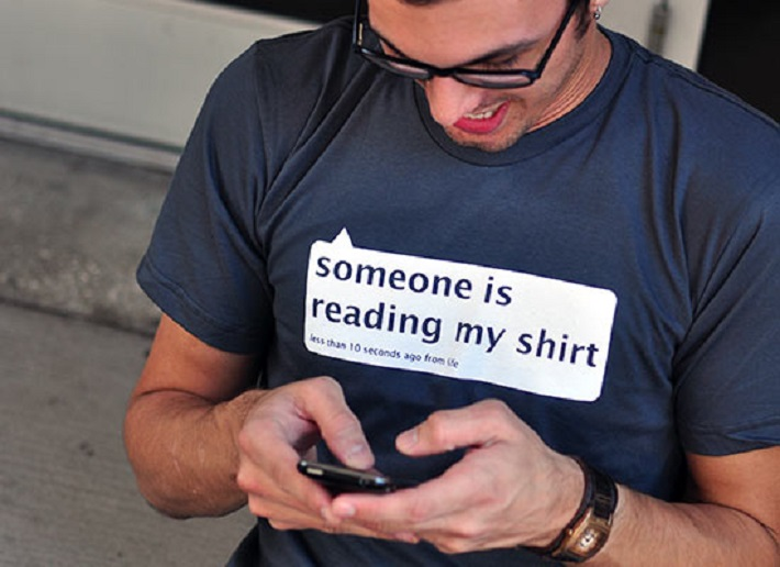 Chatting t-shirt
